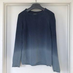 NudieJeans Vladimir Bleached Blue Knit Sweater